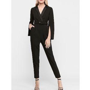 Express black Belted Blazer Jumpsuit size XS